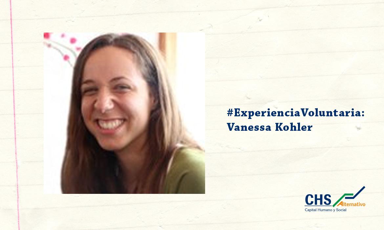 #ExperienciaVoluntaria: Vanessa Kohler