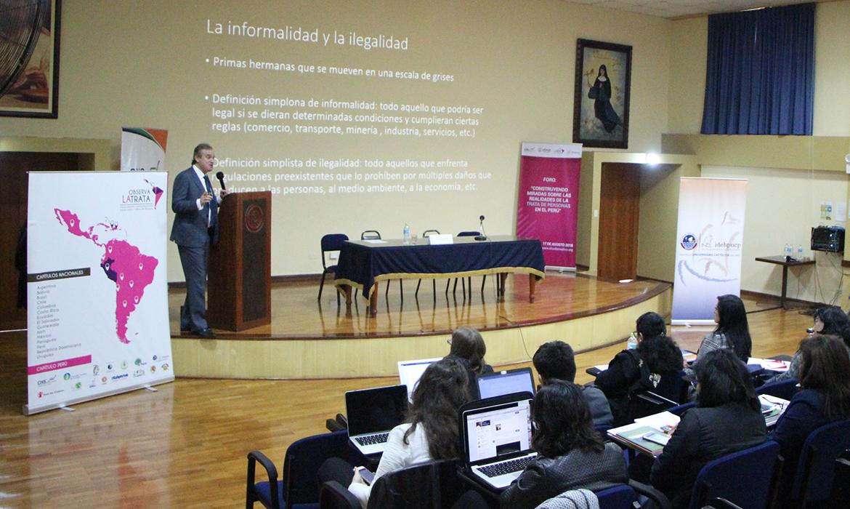 Se organiza foro interdisciplinario sobre trata de personas en el Perú