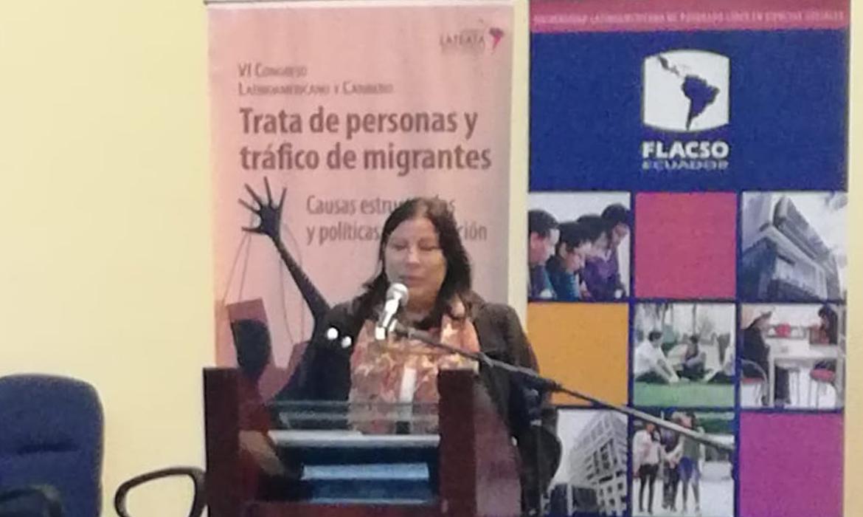 CHS Alternativo participa en el VI Congreso Latinoamericano y Caribeño de Trata de personas y tráfico de migrantes