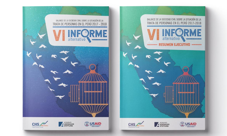 CHS Alternativo presenta su VI Informe Alternativo 2017-2018: Balance de la sociedad civil sobre la situación de la trata de personas en el Perú