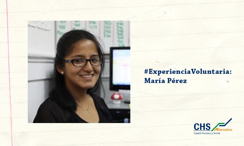 #ExperienciaVoluntaria: María Gabriela Pérez