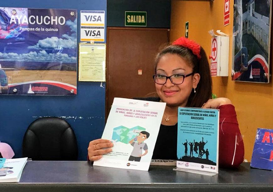 Prevención de la ESNNA en el ámbito del turismo y de los viajes