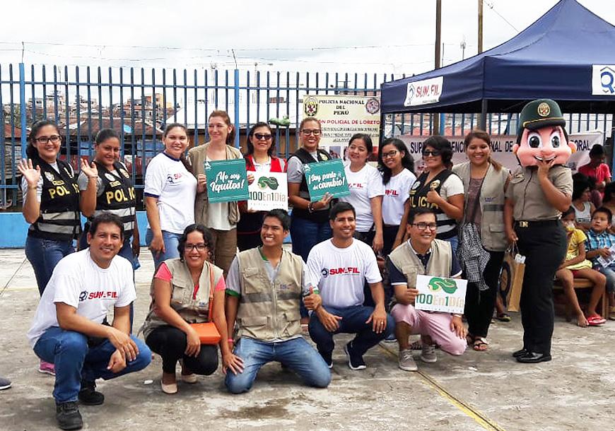 Fortalecimiento de la capacidad institucional del Sistema de Inspección Laboral Peruano