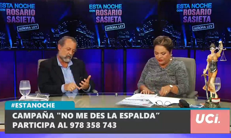 """Entrevista a Ricardo Valdés en """"Esta noche con Rosario Sasieta"""""""