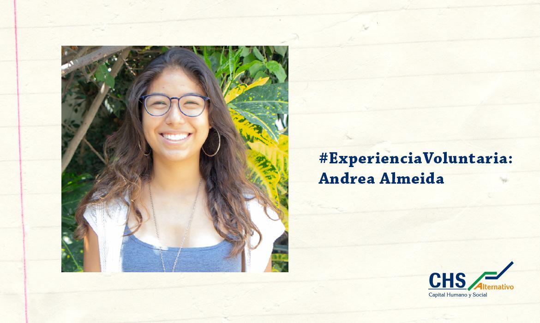 #ExperienciaVoluntaria: Andrea Almeida