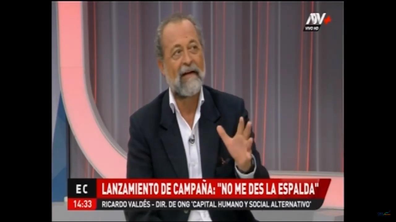 """Lanzamiento de campaña """"No Me Des la Espalda"""""""