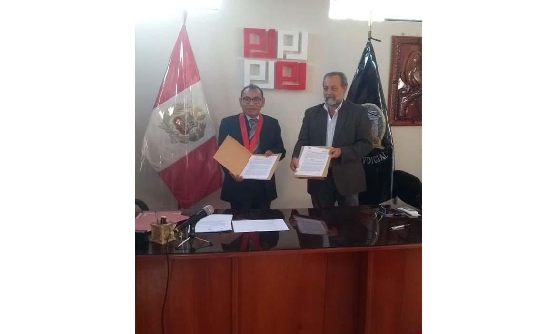 Capital Humano y Social Alternativo firma convenios para la prevención del delito de trata de personas en  Madre de Dios