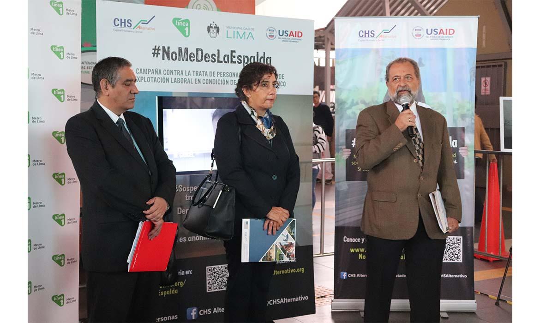 """CHS Alternativo lanza campaña nacional """"No me des la espalda"""" para identificar señales de este delito en el ámbito doméstico"""