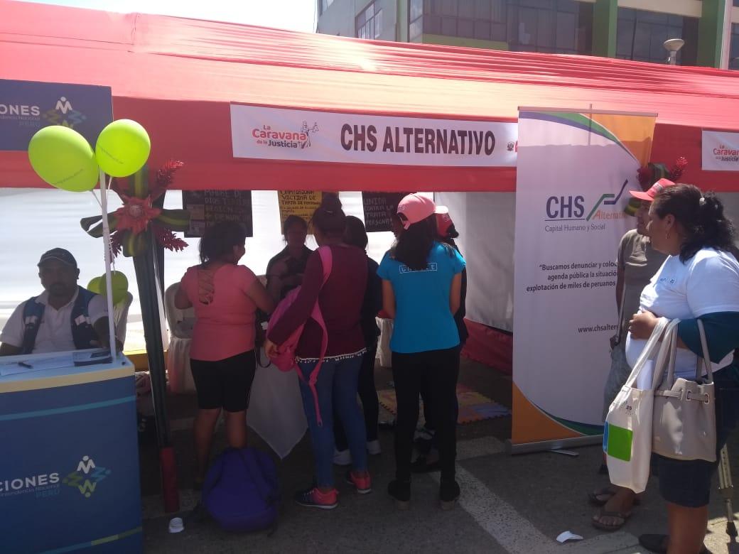 CHS Alternativo participó en la Caravana de la Justicia en Madre de Dios