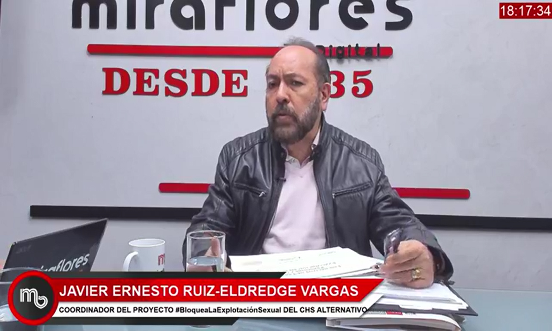 """Javier Ruiz-Eldredge: """"Estamos en la Lucha contra la Explotación Sexual Infantil en Línea"""""""