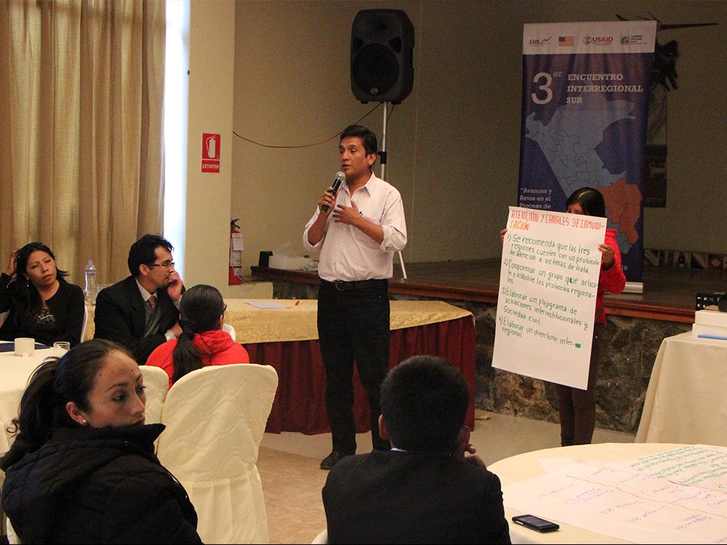 III Encuentro Interregional Sur