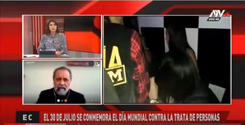 Ricardo Valdés en ATV: Situación de la trata de personas en el Perú