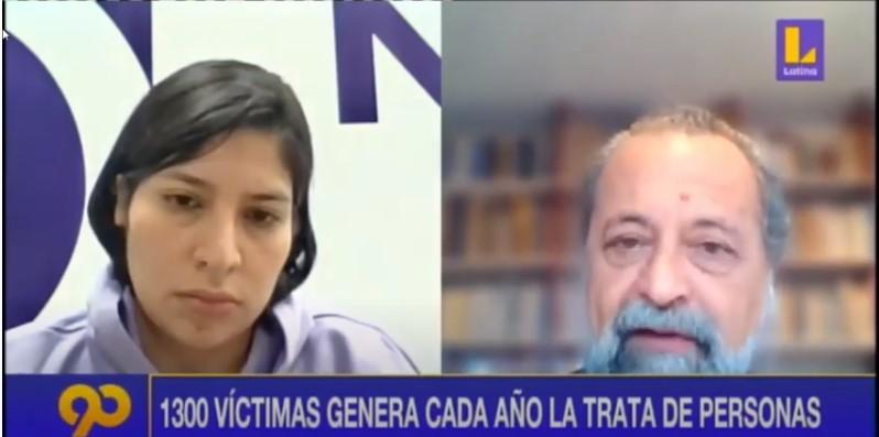 """Ricardo Valdés en Latina – """"La forma más común de captación es la falsa oferta de empleo"""""""