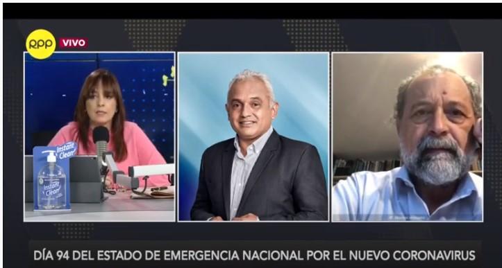 """Ricardo Valdés en RPP – """"No hay sustento en prolongar el toque de queda"""""""