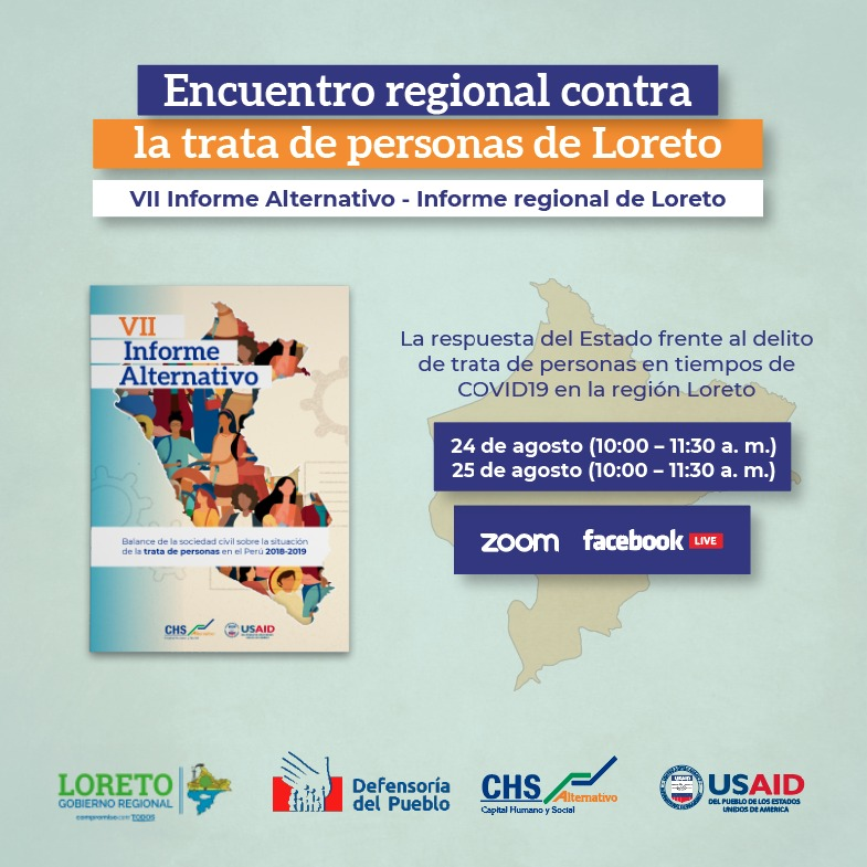 Balance sobre la situación de la trata de personas en Loreto