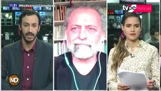 Entrevista a Ricardo Valdés en TV Perú – Sistema de búsqueda de personas desaparecidas