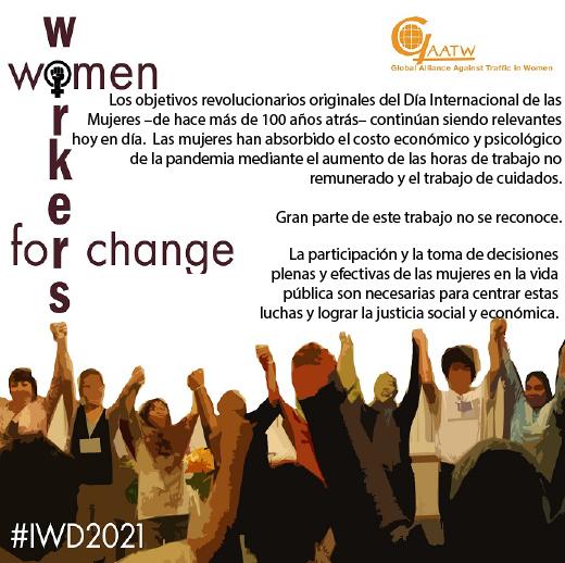 Mujeres al frente de la Resistencia