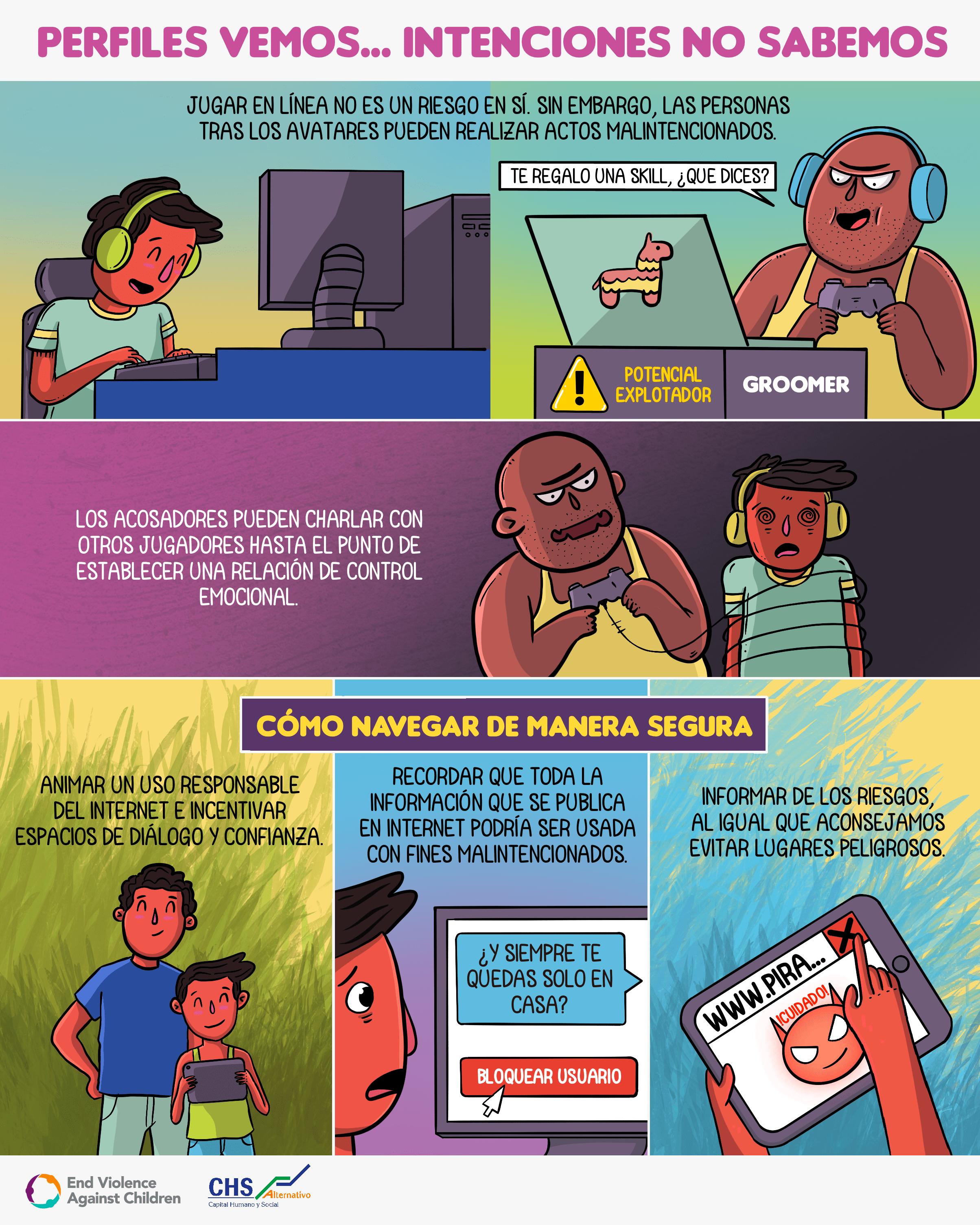 En internet #NavegoTranqui