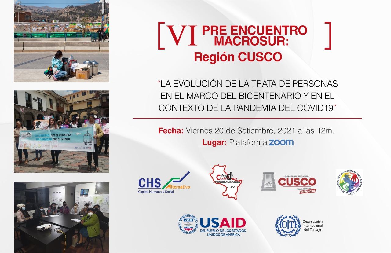 CHS Alternativo realizó encuentro virtual sobre la trata de personas en la región Puno