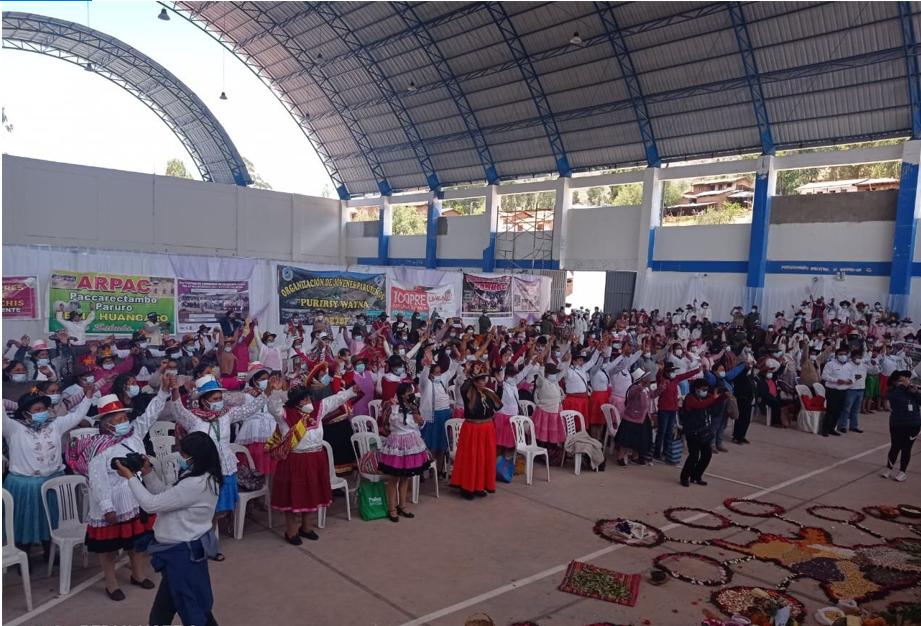 CHS Alternativo participa en el Encuentro de Lideresas de la Región Cusco